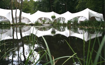 Dorset wedding venue marquee