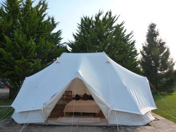 Family glamping holiday dche.co.uk