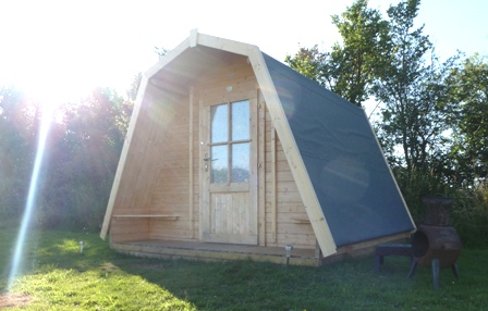 pod glamping holiday