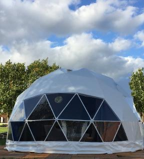glamping dome Dorset