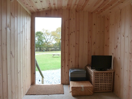 shepherds hut glamping holiday