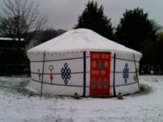 Christmas New Year Glamping
