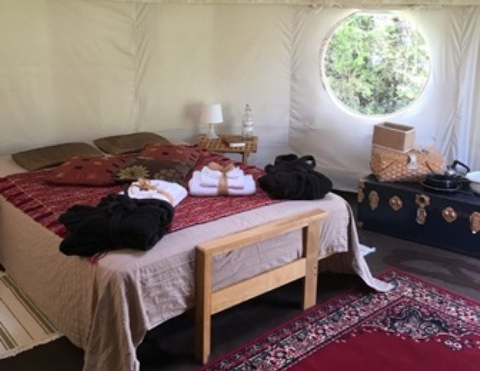 yurt glamping holiday dche.co.uk